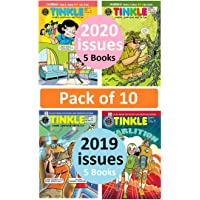 Tinkle Magazines | Pack of 10 Magazines | Assorted Collection of Children Magazine | Tales from Suppandi & Tantri Mantri…