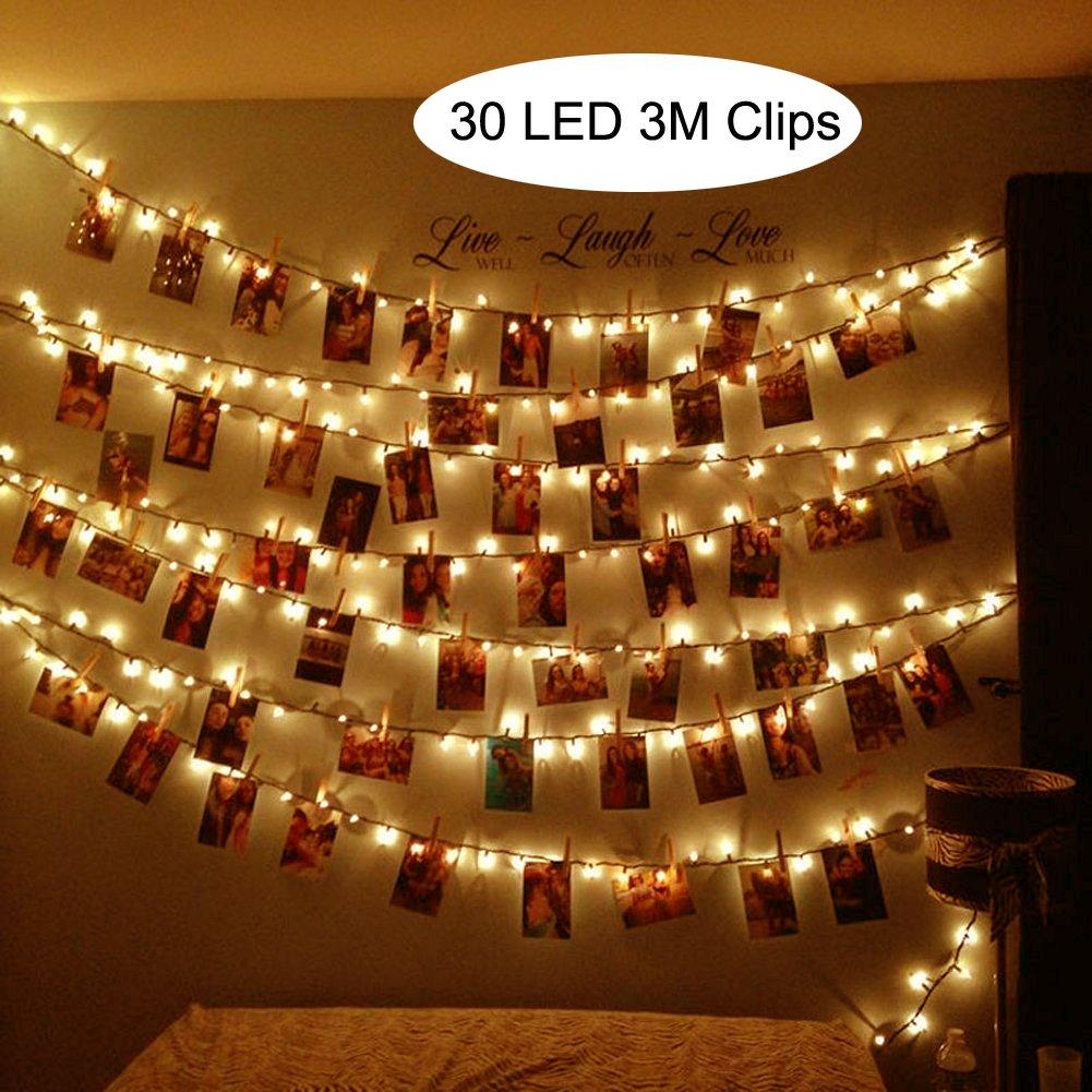 Hochwertig LED Foto Clips Lichterketten ...