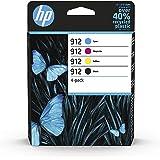 HP 912 4-pack Black/Cyan/Magenta/Yellow Original Ink Cartridge