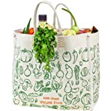 Dussle Dorf Large Heavy Duty Waterproof Shopping Bags Kitchen Essentials/Grocery Bag/Vegetable Bag/jhola/Carry Bag/thela…