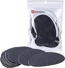 5pairs Self-Adhesive Non-Slip Gummisohle Protectors Anti-Slip-Stick auf Schuh Grip Pads