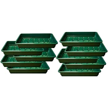 Set of 50 Trays Gardman Half Size Plastic Seed Trays