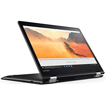 Lenovo Yoga 510-14IKB 14-inch Touchscreen Laptop (7th Gen Core i5-7200U/4GB/500GB/Windows 10 Home/Integrated Graphics), Black