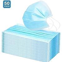 AD ADTRIP 50PCS Mascarilla desechable Mascarilla bucal transpirable a prueba de polvo Maschera anti-polvere monouso con Earloop