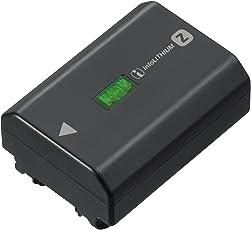 Sony NP-FZ100 Akku (InfoLITHIUM-Akku Z-Serie, 7,2V/16,4Wh (2280 mAh), kompatibel mit Sony Alpha 9, Alpha 7RM3, Alpha 7M3) schwarz