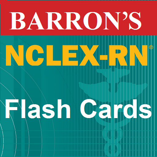 Barron's NCLEX-RN Flash Card Review (Cards Nursing Drug)