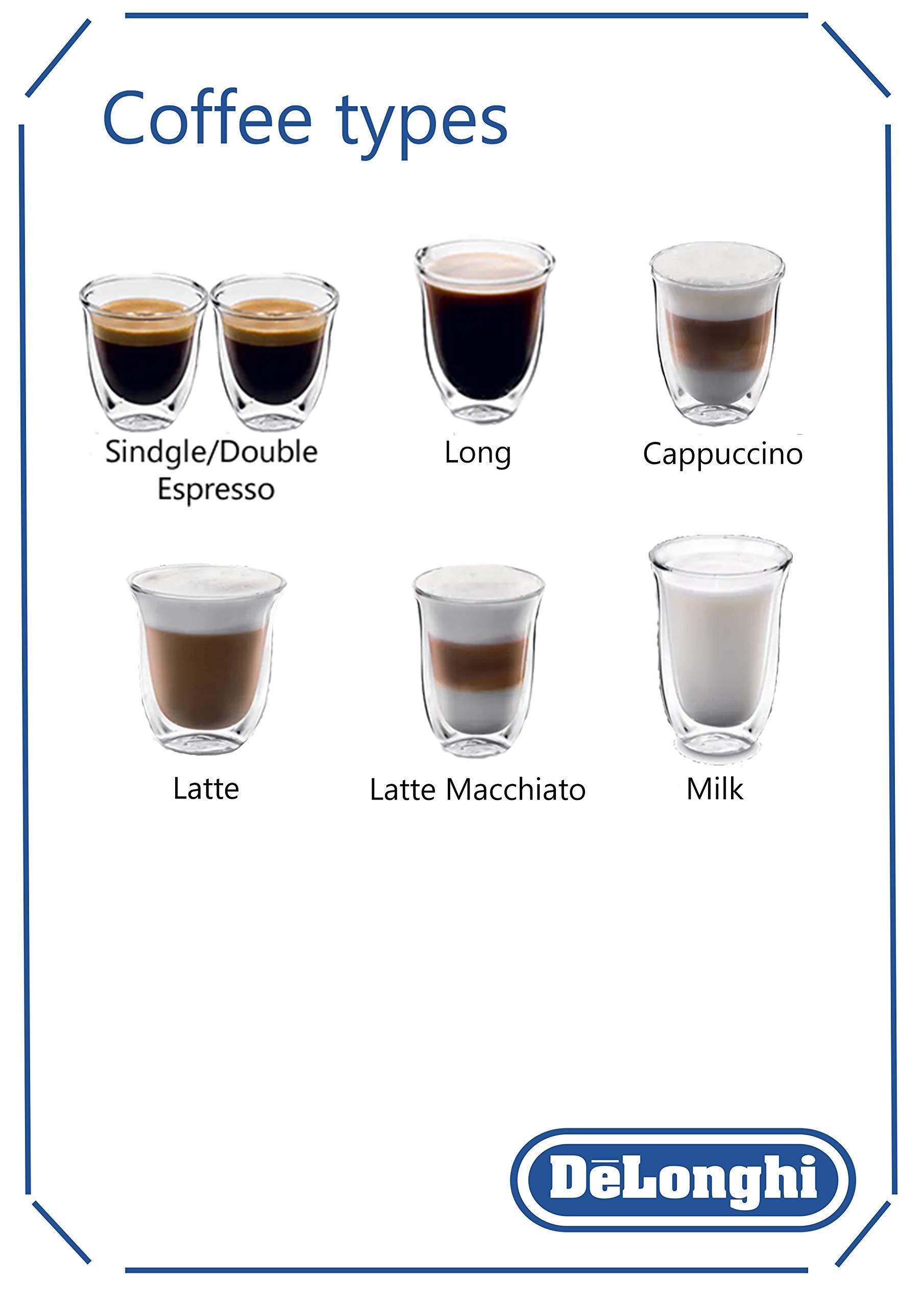 71P8g7rVTxL - De'Longhi Fully Automatic Bean to Cup Coffee Machine ECAM25.462.B, 220 W