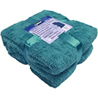 A-Express Chaude Grand Doux Confortable Teddy Sherpa Couverture Polaire Throw Plaid