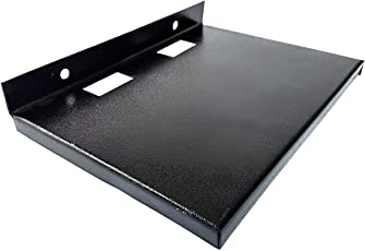 DVD Player, dth, Set top Box Stand Wall Mount, Metal Built Heavy Duty | to be Used in TV Rooms, Offices,LED TV for a Neat and Organised Look. (1 Layer)