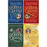 Alison Weir Six Tudor Queens Collection 4 Books Set (Katherine of Aragon The True Queen, Jane Seymour The Haunted Queen…