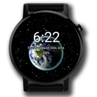 Animated Earth Watch Face