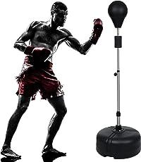 Beautytalk Pro Punching Stand Punchingball Standboxsäcke Boxstand für Jugendliche und Erwachsene Max 156 cm (DE Lager)