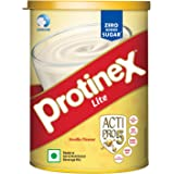 Protinex Lite Health And Nutritional Drink Mix For Adults with High protein & High Fiber, Vanilla, 250g