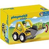 Playmobil 1.2.3 6775 Graafmachine Met Werkman