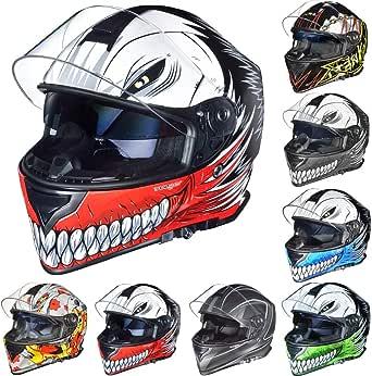 Rt 824 Integralhelm Motorradhelm Kinderhelm Motorrad Integral Roller Helm Rueger Bekleidung