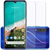 Affix Tempered Glass for Xiaomi Mi A3 with Easy Self Installation Kit (Transparent) Full Screen Coverage (except edges…