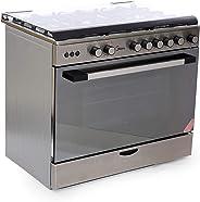 Midea LME95030FFD SS Gas Cooker, 90x60