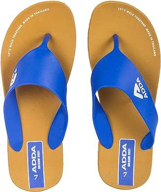 ADDA Men's Blue Slipper - 9 UK