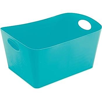 Aufbewahrungskorb Senfgrün Aufbewahrungskiste Koziol Boxxx L Aufbewahrungsbox