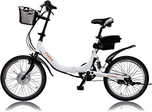 "E-Bike, Elektrofahrrad, FLEXX 20"", E-Klapprad, Riemenantrieb, 3-Gang Shimano, gefedert, Faltrad, 250W, 36V, 9 Ah, LightSKIN LED Sattelstütze, Ebike, Pedelec faltbar, Mobilitätspaket, Camping, Marine, Pendler, Cityflitzer"