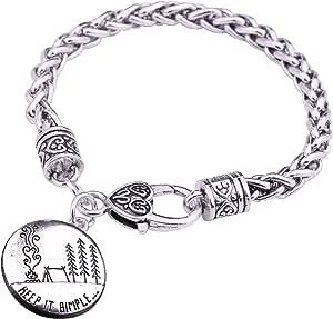 Korliya Breloque danniversaire en forme de chiffre pour bracelets /à breloques