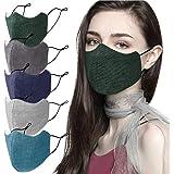 Kunstify Stoffmasken 5er Set Baumwolle Mund Nasen Schutz Behelfsmasken Waschbar Unisex Nachhaltig Da Wiederverwendbar Auto
