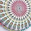 Cuscini Indiano Mandala da Pavimento Cuscini Rotondo Bohemien Cuscino Caso Cuscini Indexp Geometria Indiano Bohemian Federa Mandala Floor federe per Cuscini per Jmetric