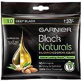 Garnier Black Naturals, Hair Colour (20ml+20g, Deep Black)