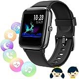 Fitness Tracker with Heart Rate Monitor,Smart Watch, Smartwatch Women Men Kids Waterproof IP68 GPS Activity Tracker, Step Cou
