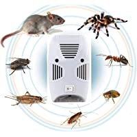 Vihax Ultrasonic Pest Reseller Repellent, Home Pest Control Reject Device for Bed Bugs, Rats, Roaches, Rodent, Mouse…