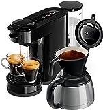 Philips Senseo HD6592/60 Switch 2-in-1 Kaffeemaschine, schwarz