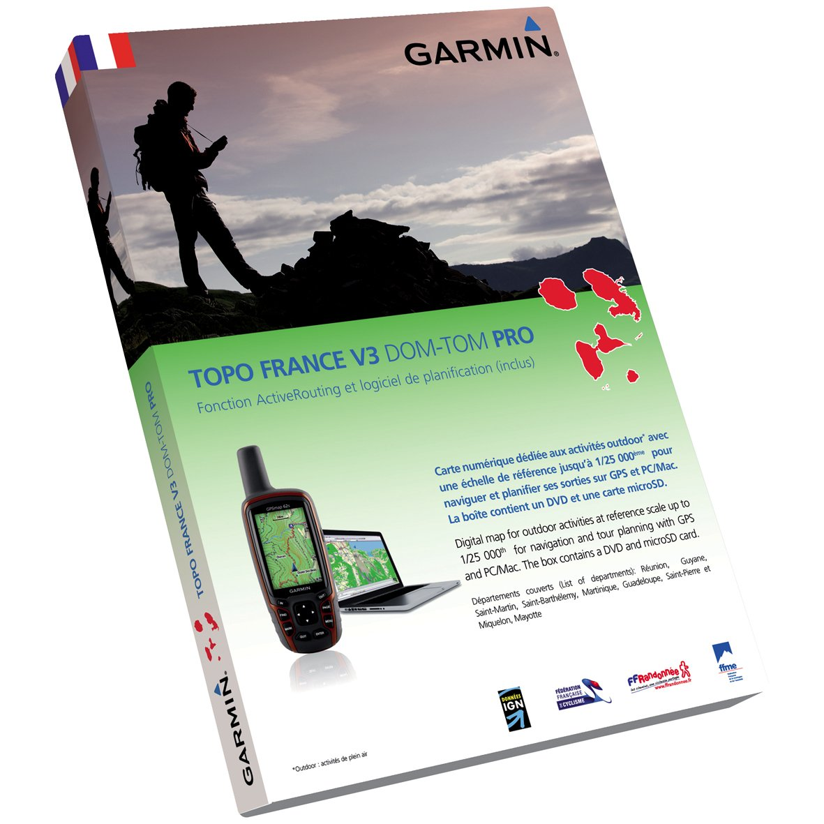 carte topo gps garmin france v3 pro 2012