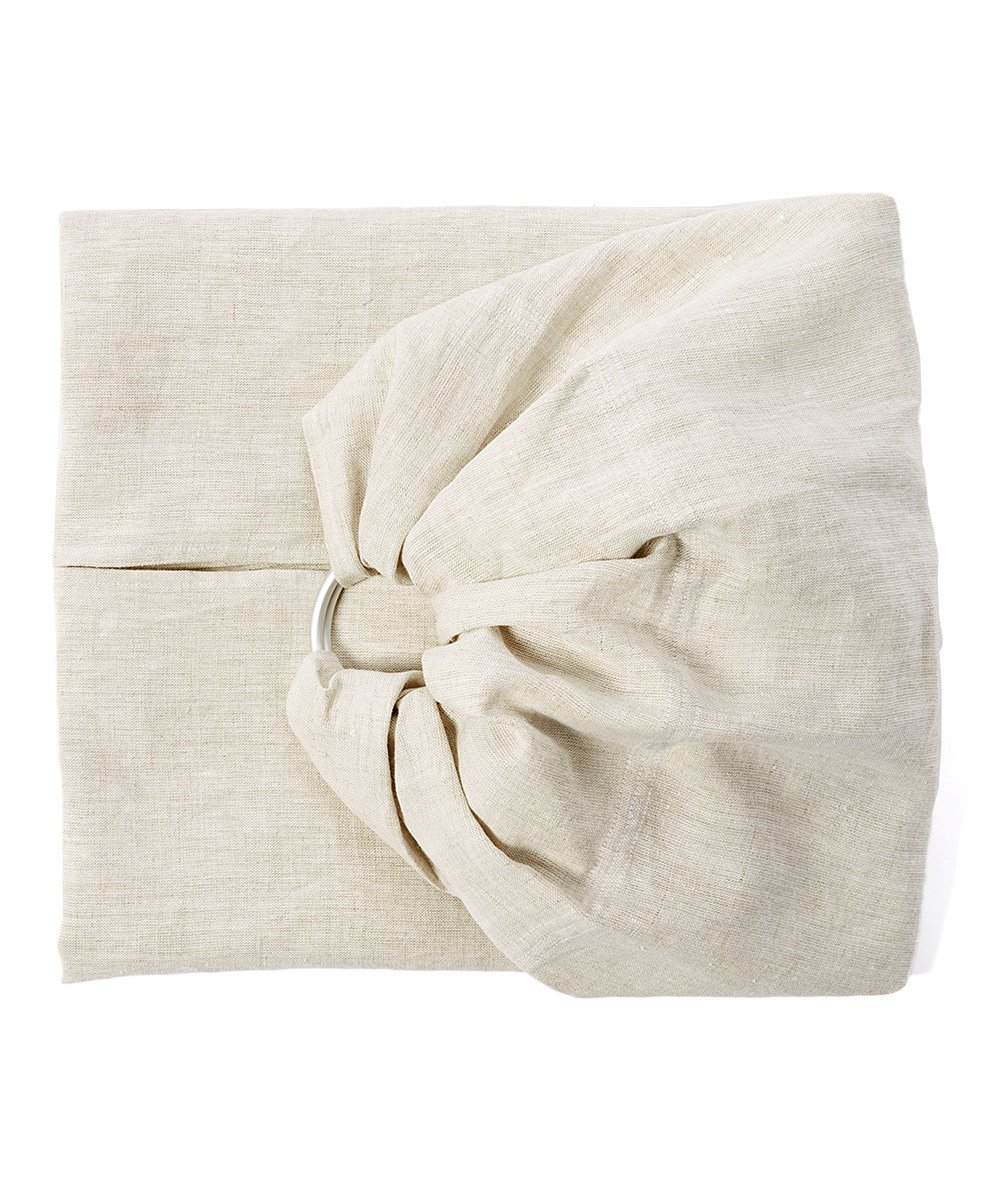 Hip Baby Wrap Linen Ring Sling Baby Carrier for Infants and Toddlers (Oat) Hip Baby Wrap Our slings are all fair trade and eco-friendly. Made with beautiful 100% linen, breathable fabric and with top quality solid aluminum sling rings. For babies 8 - 35 lbs. 2