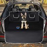 Toozey Telo Auto per Cani, 185 * 105 Coprisedile Auto con stabilità e Impermeabile al 100% per Tutte Le Auto - Nero