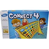 Hasbro Gaming The Classic Game of Connect 4, Grid, Get 4 in A Row Strategy Game for 2 Players Ages 6 & Up