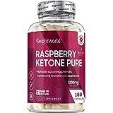 Raspberry ketone Pure – 1 200 mg ren Himbeer keton hög doserad – för borttagning, diet och tygbyte – apetitsökare – Keto näri