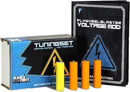 Blasterparts - Tuning-Set für Nerf N-Strike Elite [XD] Modulus ECS-10 (Voltage Mod) - Blaster-Tuning & Zubehör