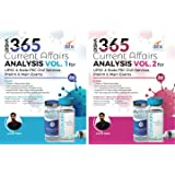 Disha 365 Current Affairs Analysis Vol. 1 & 2 for UPSC & State PSC Civil Services Prelim & Main Exams 2nd Edition