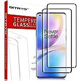 QITAYO Verre Trempé pour Oneplus 8 Pro Film Protection, Ultra Thin 9H Dureté, 3D Couverture complète, Verre Rrempé écran…