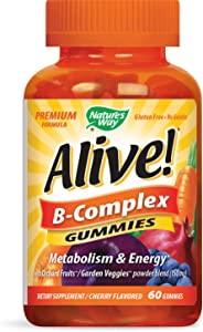 Alive Nature's Way B-complex Gummy 60's