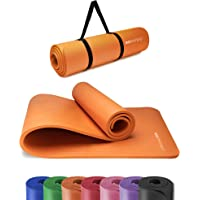 KG Physio Tappetino fitness, ideale per ginnastica a casa. Tappetino palestra e pilates, tappetino yoga antiscivolo…