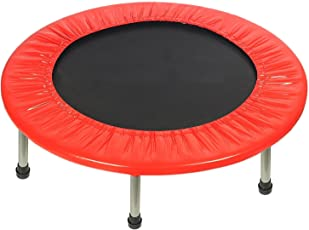 TruGood Kids Jumping Trampoline Indoor/Outdoor Trampolines Big and Small Diameter, 36 inch/3 feet (Multicolour)