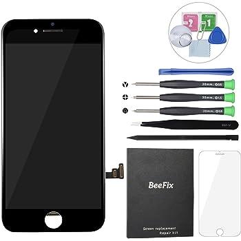 """Beefix Display Schermo per iPhone 7 Nero Nuovo 3D Touch LCD Display Kit Completo di Riparazione e Protezione dello Schermo per iPhone 7 (4.7"""")"""