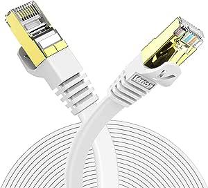 Veetop Lan Kabel Cat 7 Netzwerkkabel Flach Für 10 Computer Zubehör
