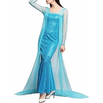 Inception Pro Infinite Taglia M - Costume - Carnevale - Halloween - Elsa  Principessa - Donna - Colore Blu - Frozen 13a297ab655