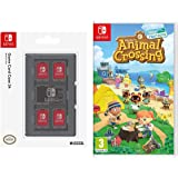Animal Crossing New Horizons + HORI Switch Game Card Case - Black (Nintendo Switch)