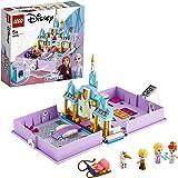 LEGO Disney Princess - Cuentos e Historias: Anna y Elsa, Juguete de Frozen 2, Castillo de Arandelle, con Mini Muñecas de Pelí