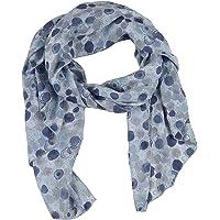 Zwillingsherz Seiden-Tuch im Punkte Design - Hochwertiger Schal für Damen Mädchen - Halstuch - Umschlagstuch – Pashmina…