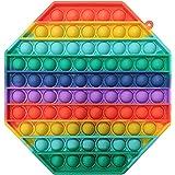 iCOOLIO Pop it Gigante, Fidget Toys Set, popit Grande, poppit gigantesco Antistress, Fidget Toy Set Multicolor, Push Pop Bubb