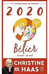 Bélier 2020 (J'ai lu) Format Kindle